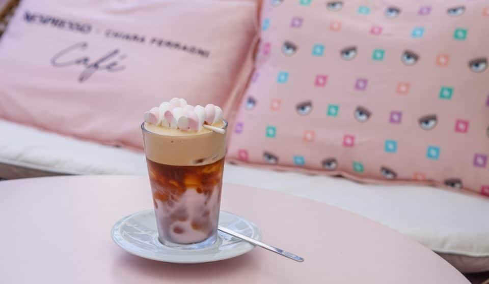 A Milano fino al 18 luglio il temporary caffè firmato Nespresso e Chiara Ferragni