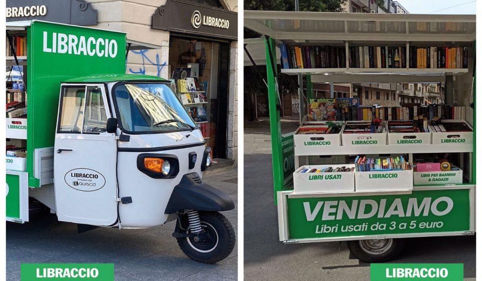 A Milano l'Ape Libraccio compra e vende libri usati