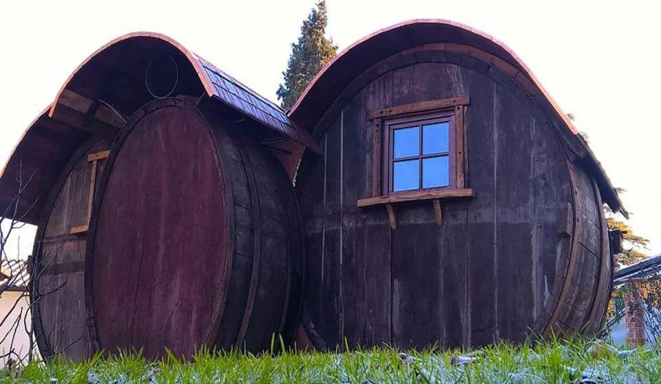Nell'Alto Monferrato puoi dormire in una botte di vino