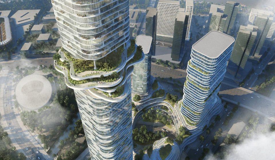 La Foresta nel cielo, un grande giardino in una torre alta 333 metri