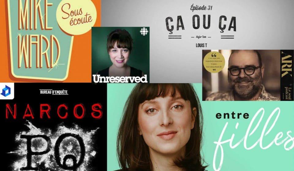 5 meilleurs podcast québécois!