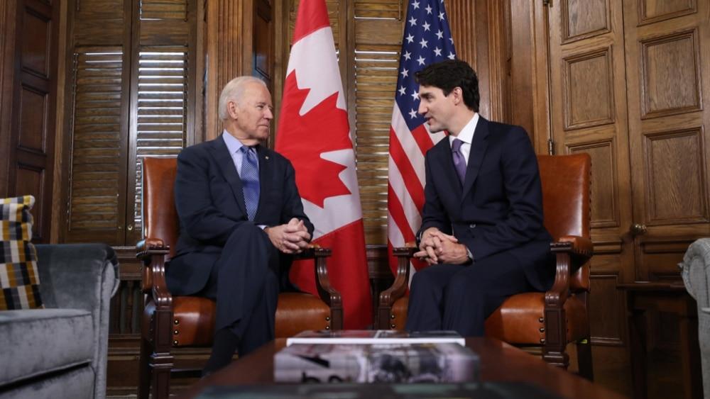 Les leaders politiques canadiens félicitent le nouveau président états-unien, Joe Biden
