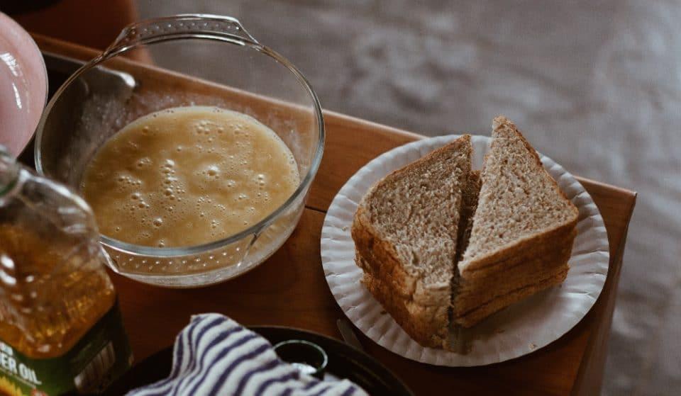 Recette : pain doré aux poires du chef Marc-Alexandre Mercier