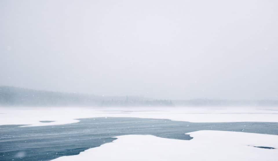 Un pont de glace près de Montréal pourrait bientôt disparaître en raison des changements climatiques