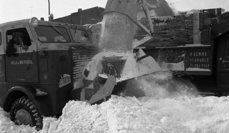 50e anniversaire de la tempête du siècle : vivez l'hiver 1970-71 en images