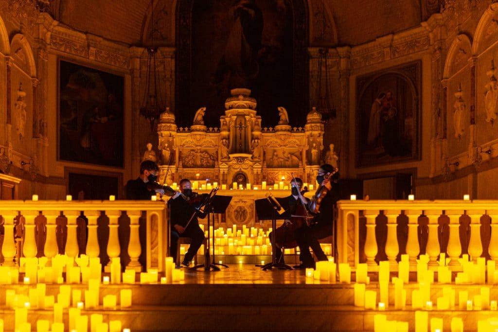 Les concerts à la bougie Candlelight ouvrent leurs portes à la chapelle Notre-Dame-de-bon-Secours