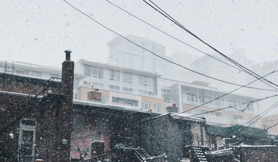 Une tempête de neige frappera le Québec ce mercredi