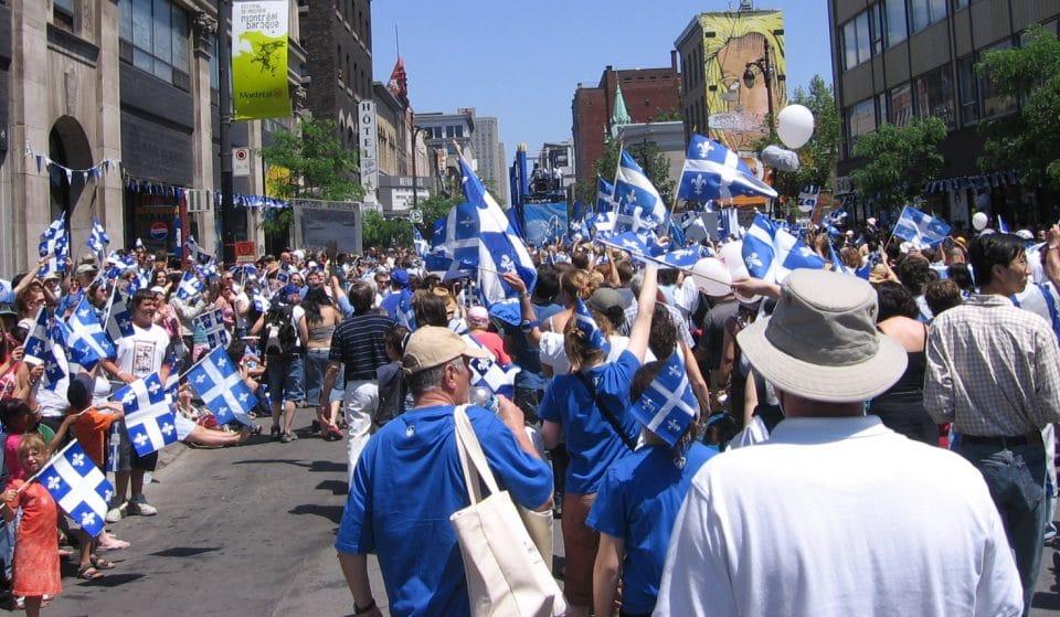 Voici quels événements auront lieu à Montréal pour la Fête nationale