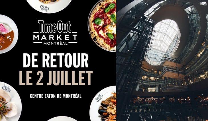 Le Time Out Market rouvrira ses portes le 2 juillet avec plusieurs nouveautés !