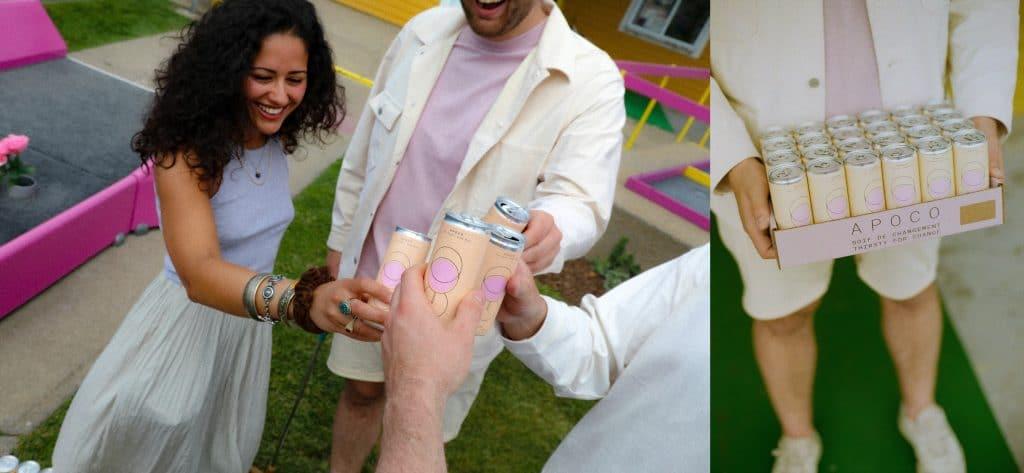 APOCO vous propose un rosé en canette et c'est la boisson parfaite pour cet été!