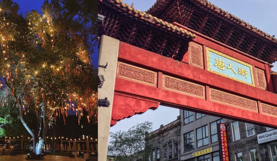 Le Marché de Nuit s'installera cette semaine sous l'Arbre à Souhaits du Quartier Chinois