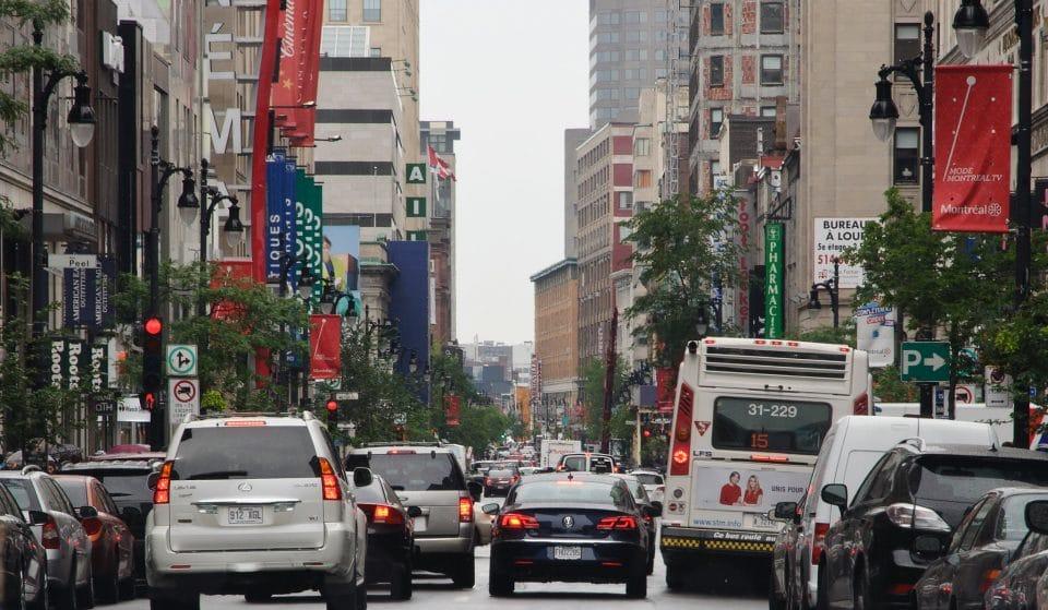 La rue Sainte-Catherine accueillera une énorme vente de trottoir cet automne