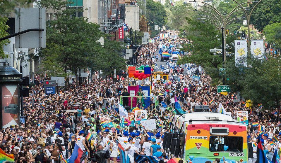 Fierté Montréal : la Marche de la Fierté 2021 débute aujourd'hui à 13h