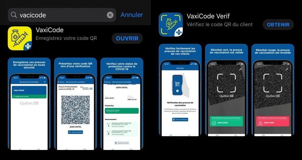 COVID-19 : vous pouvez maintenant télécharger l'application du passeport vaccinal