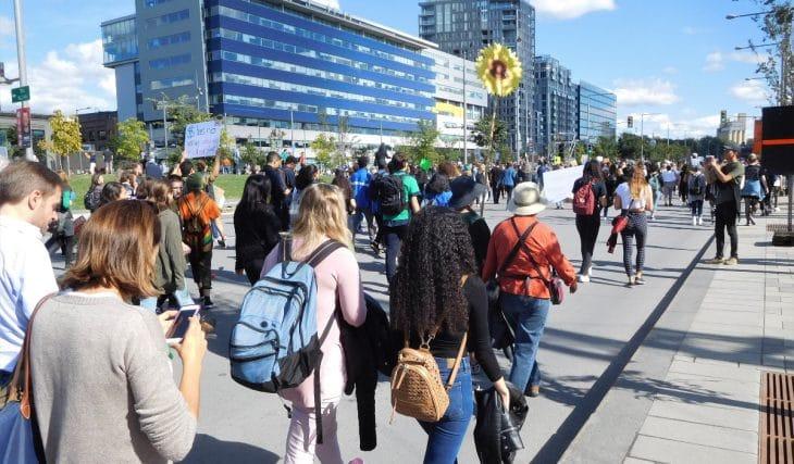 Une manifestation pour la justice climatique aura bientôt lieu à Montréal