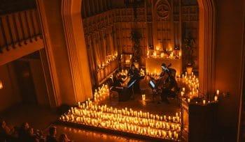 Candlelight : Ces magnifiques concerts de musique classique éclairés à la bougie arrivent à Nice !