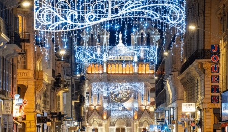 Illuminations de Noël : Nice s'habille de lumière !