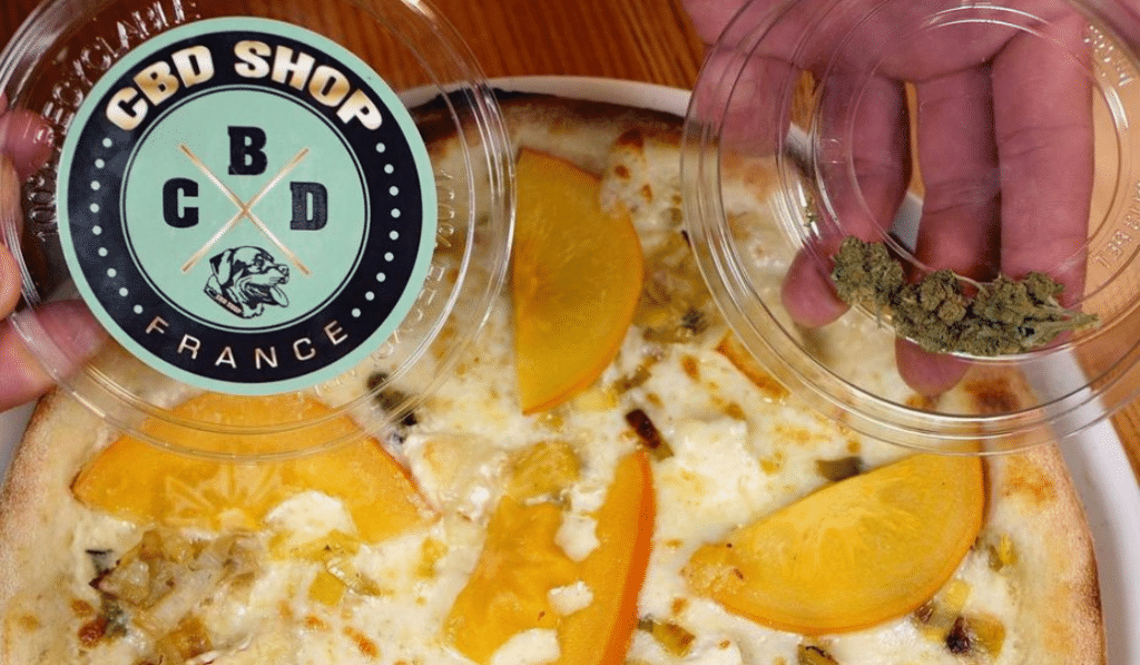 Une pizza au cannabis fait des ravages à Nice !
