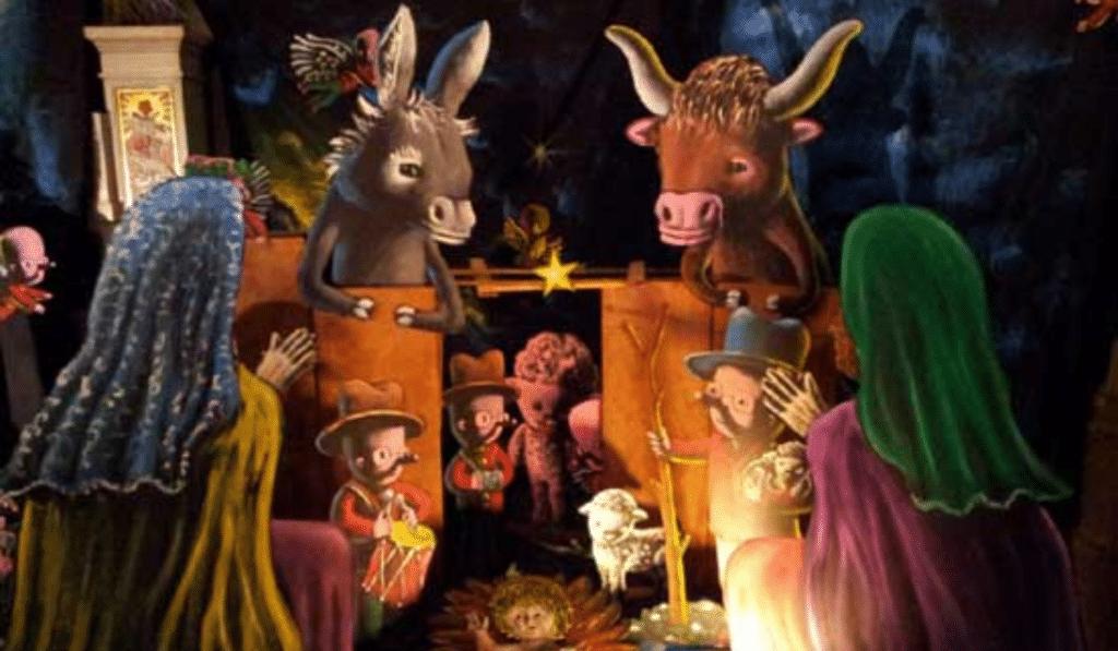 La crèche de Noël de l'artiste Moya est à voir jusqu'à demain à l'Église des Dominicains de Nice !