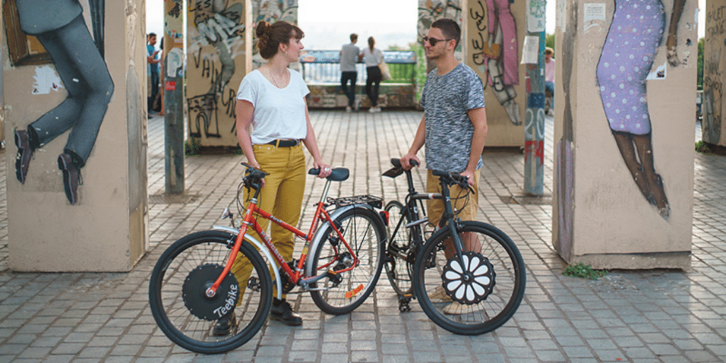 Teebike : la start-up niçoise qui transforme votre vélo en vélo électrique en 5 minutes !