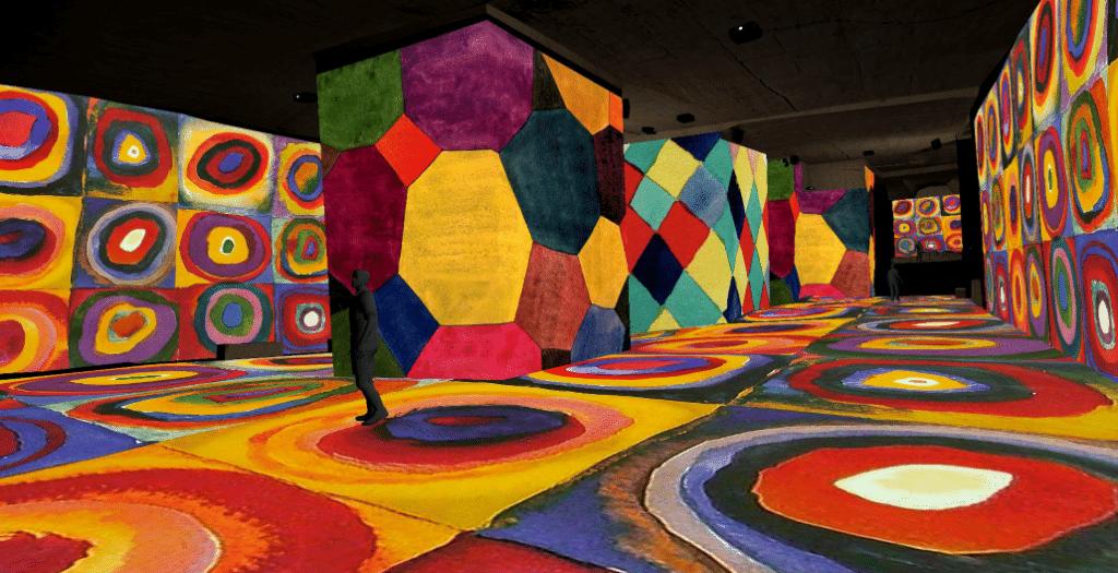 Cezanne & Kandinsky, la grande Expo immersive est à voir aux Carrières de Lumières dès le 19 mai !