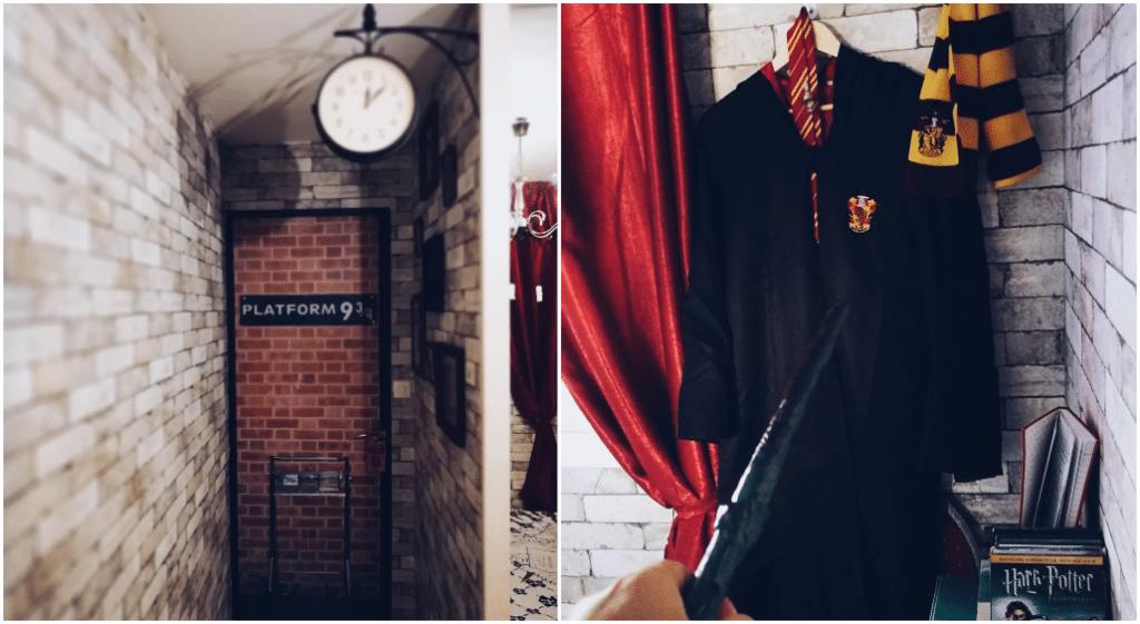Passez une nuit insolite dans une chambre 100% Harry Potter à Cagnes-sur-Mer !
