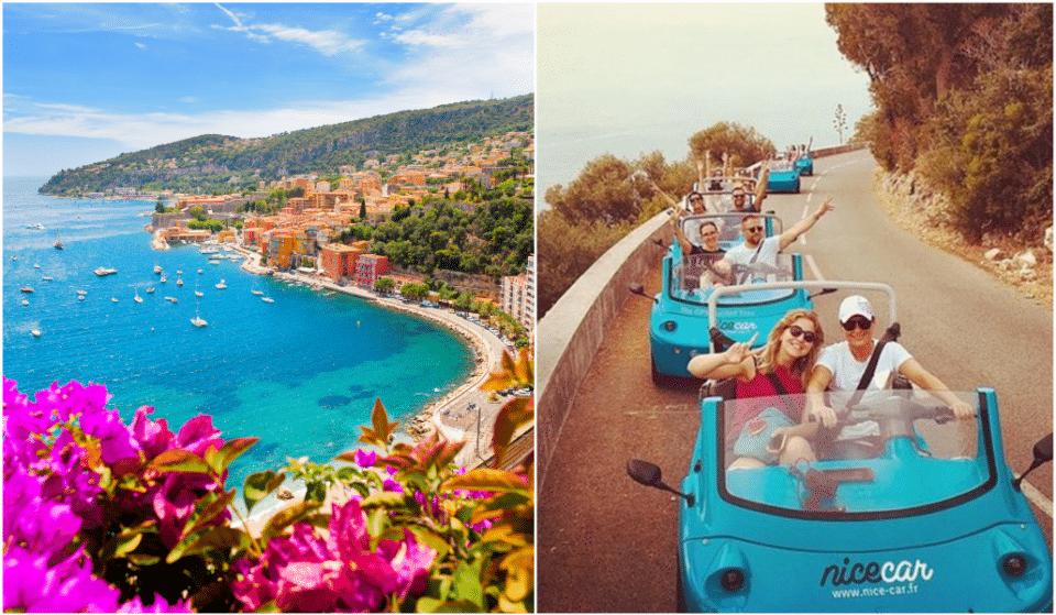 Partez pour une visite de la Riviera française en coupé miniature !