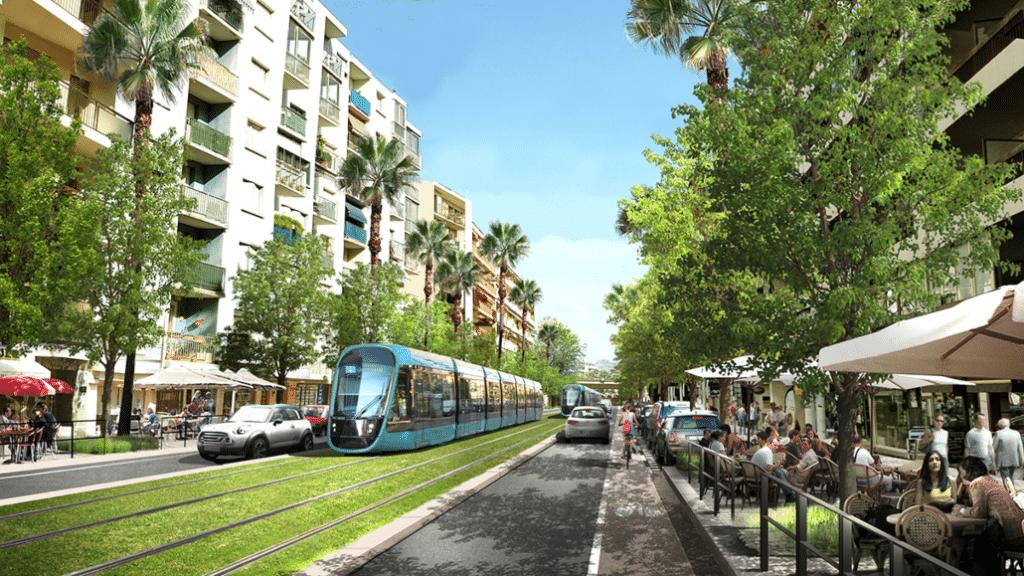 Nice : Une nouvelle ligne de Tramway entre Cagnes-sur-Mer et Saint-Laurent-du-Var dès 2026 !