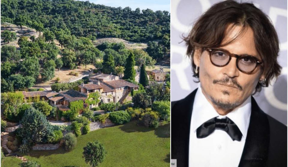 Actu : Le Domaine Provençal de Johnny Depp est à vendre !