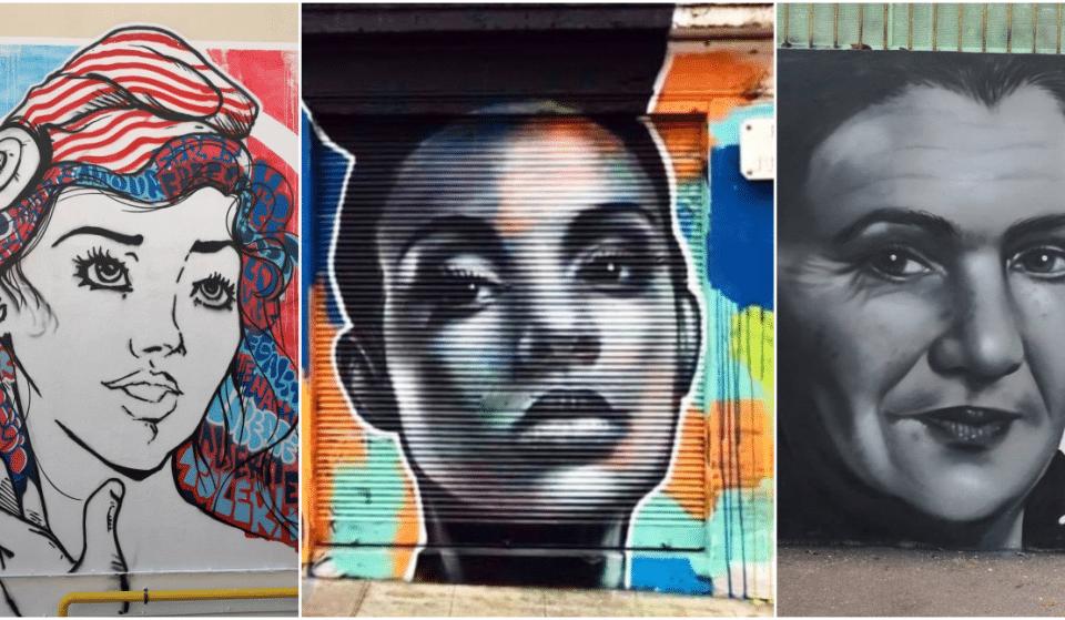 Street Art : Découvrez OTOM et ses Portraits de Femmes dans les rues de Nice  !