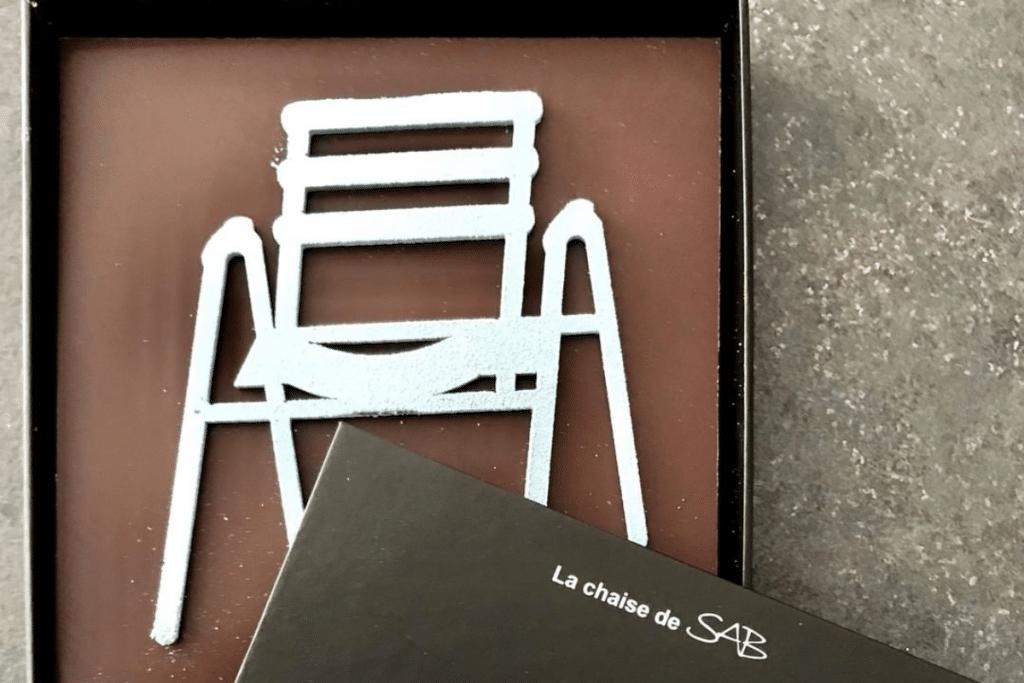 Nice : La Pâtisserie LAC crée un chocolat à l'effigie de la célèbre Chaise de SAB !