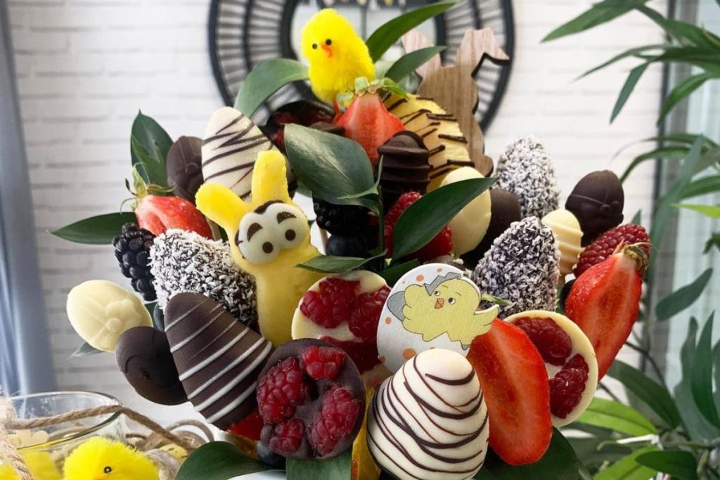 Pâques : À Nice, Bouquet de Fruits lance une Sélection de Douceurs spéciale Pâques !