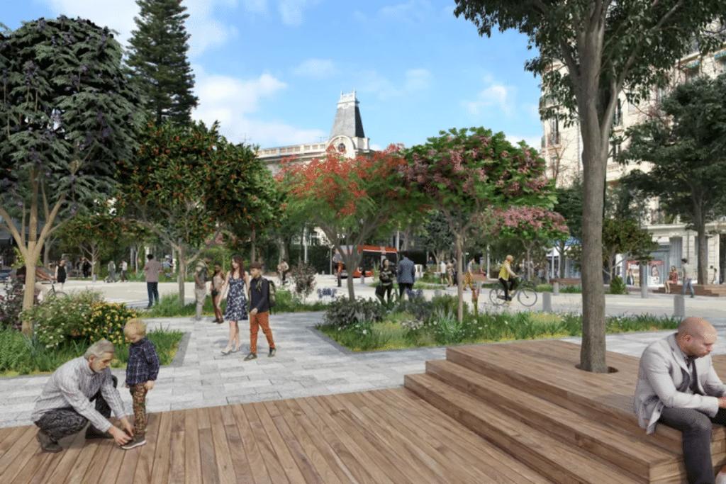 Nice : Découvrez en images le Projet de Rénovation du Boulevard Gambetta !