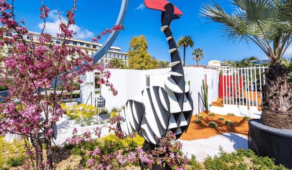 Avril aux Jardins : Un Somptueux Jardin Éphémère s'installe au Jardin Albert 1er jusqu'au 28 avril !
