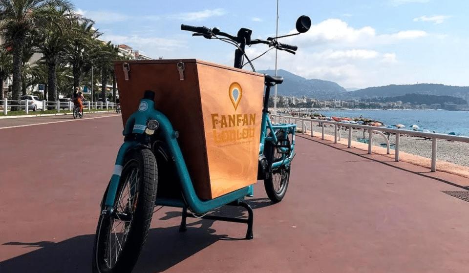 Avec Fanfan & Loulou, faites vous livrer votre Vin à Domicile à bord d'un Vélo-Cargo 100% écolo !