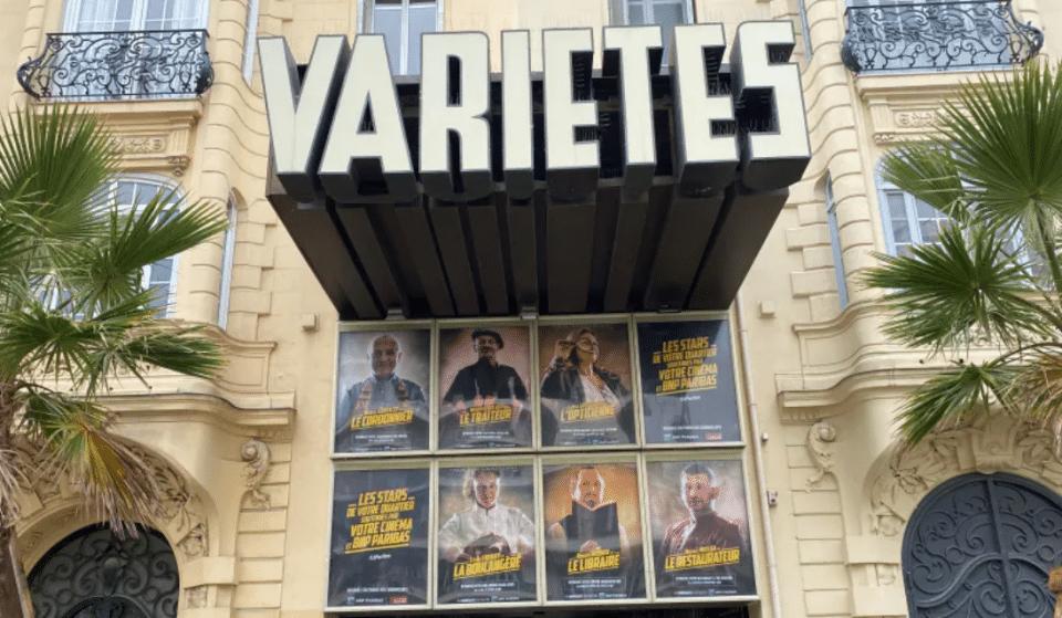 Le Cinéma Variétés de Nice remplace les Affiches de Films par les photos des Commerçants « stars » du quartier !