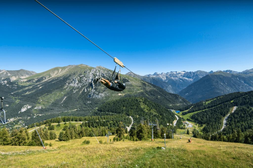 La plus grande Tyrolienne de France rouvre ce weekend à deux pas de Nice !