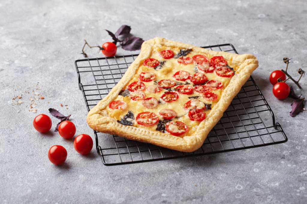 Recette : la tarte aux tomates cerises inratable de Christophe Michalak !