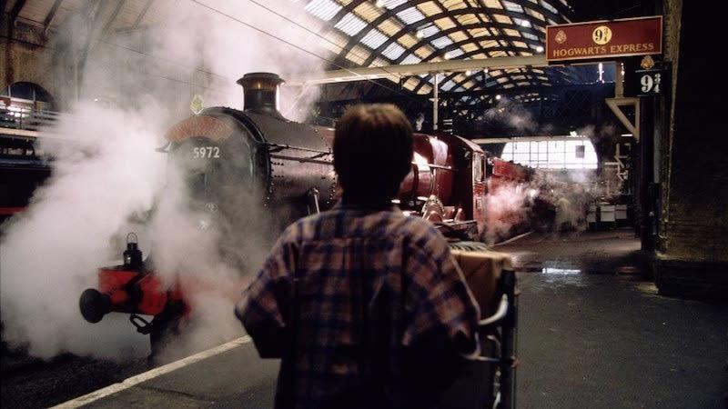Harry Potter : une expérience digitale géante en gare de Nice-Ville ce week-end !