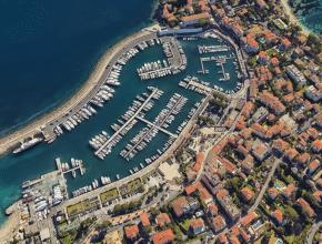 Voilà à quoi ressemblerait Nice et ses alentours avec la montée du niveau de la mer !