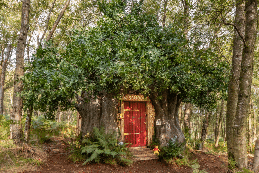 Insolite : la maison de Winnie l'Ourson est maintenant disponible sur Airbnb !