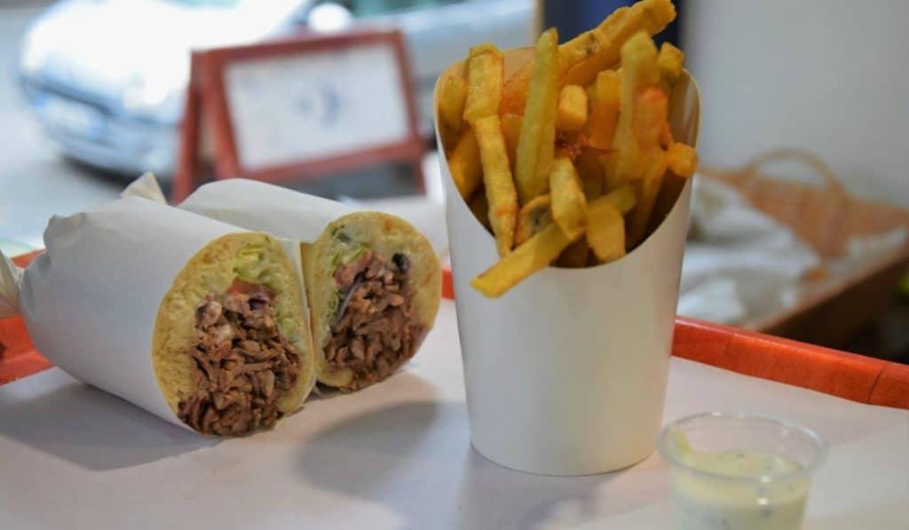 Les meilleurs sandwichs «à la broche» de Paris