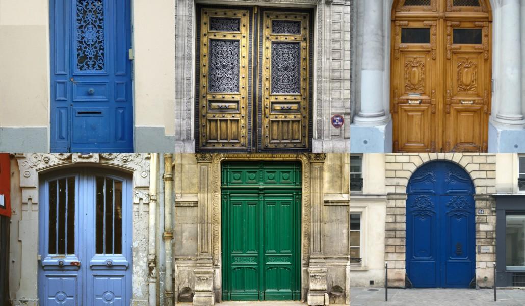 Les plus belles portes de Paris
