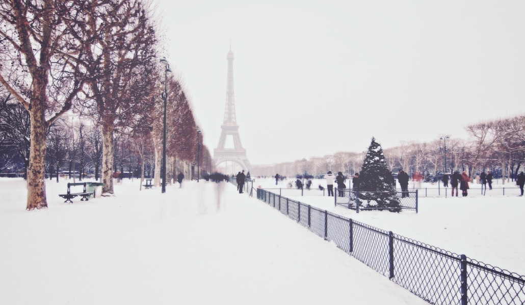 Paris sous la neige : les photos les plus magiques