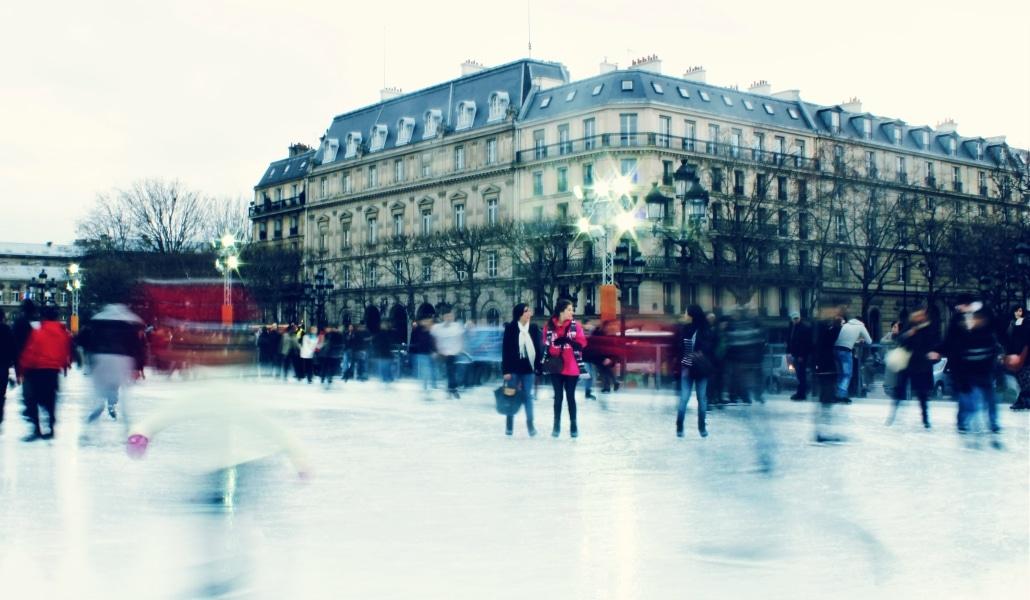 Où patiner à Paris : les plus jolies patinoires de 2017-2018 !