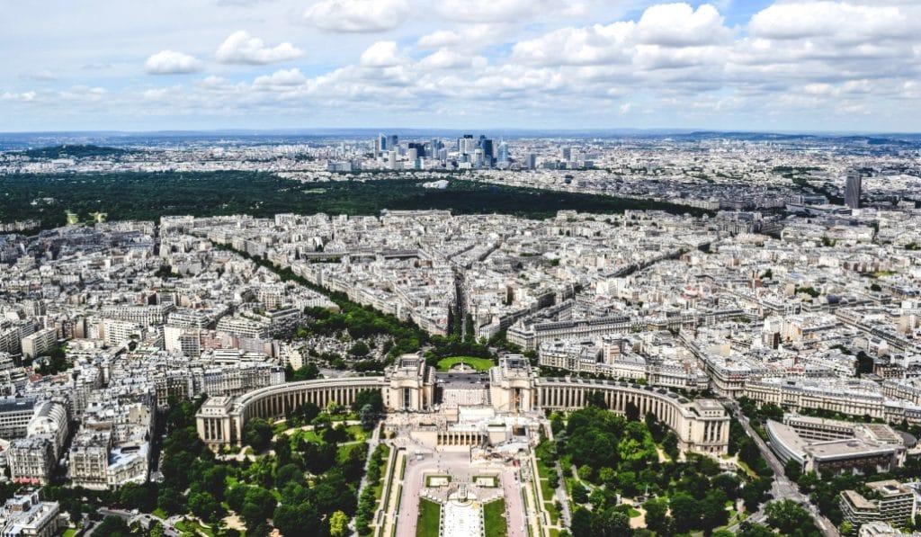 Images : Saviez-vous à quel point Paris est belle vue du ciel ?