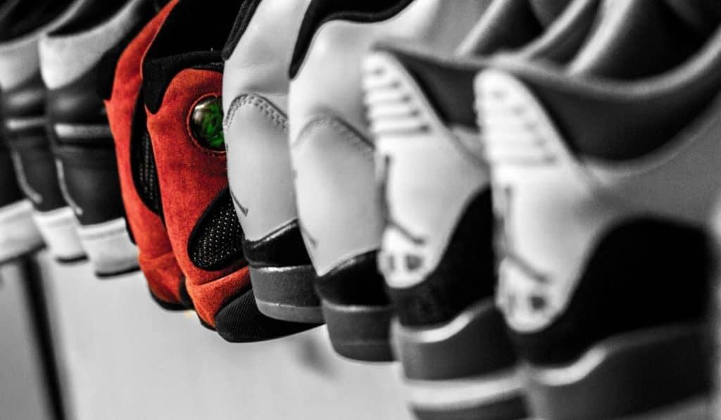 3700m² de sneakers exposées au Carrousel du Louvre ce week-end !