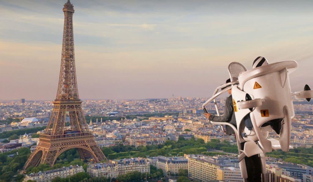 La VR qui te fera voler en jetpack au dessus de Paris