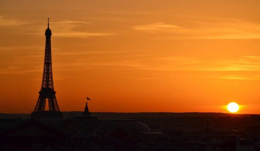Les plus beaux couchers de soleil à Paris