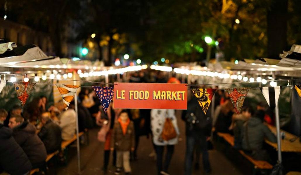 La meilleure street food d'ici et d'ailleurs se trouve au Food Market